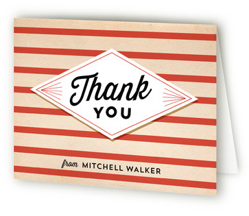 Coasting Off Retirement Party Thank You Cards
