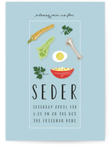 Passover Seder Dinner Plate