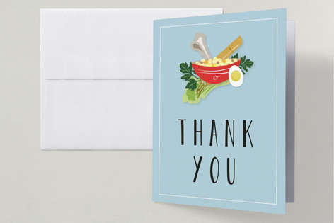 Passover Seder Dinner Plate Passover Seder Thank You Cards