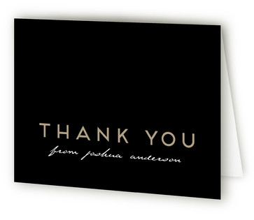 Fifty Adult Birthday Party Thank You Cards