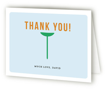 Fore-Ty Adult Birthday Party Thank You Cards