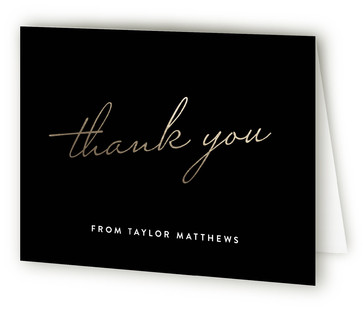 Forty And Fabulous Adult Birthday Party Thank You Cards