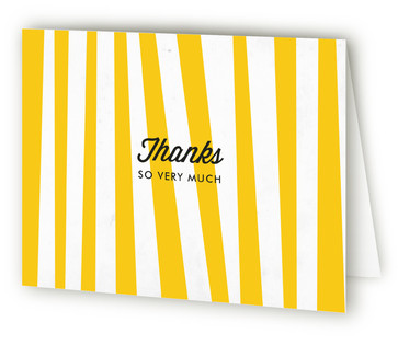 Steak On The Bbq Adult Birthday Party Thank You Cards