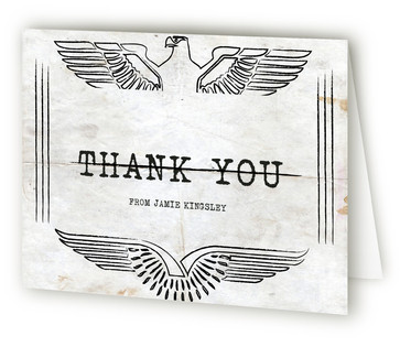 Top Secret Surprise Party Adult Birthday Party Thank You Cards