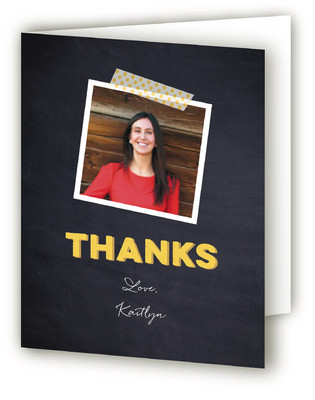 Birthday Triptych Adult Birthday Party Thank You Cards