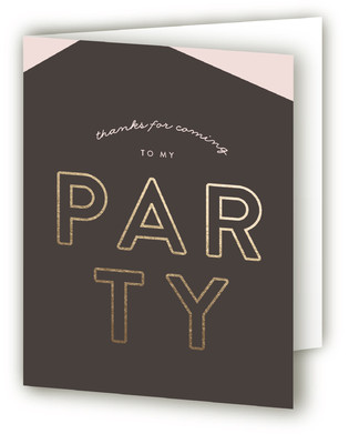 Like It's My Birthday Adult Birthday Party Thank You Cards