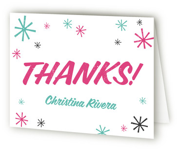 Surprise! Adult Birthday Party Thank You Cards