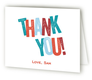 Hidden Surprise Adult Birthday Party Thank You Cards