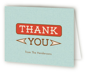 Party Time Adult Birthday Party Thank You Cards