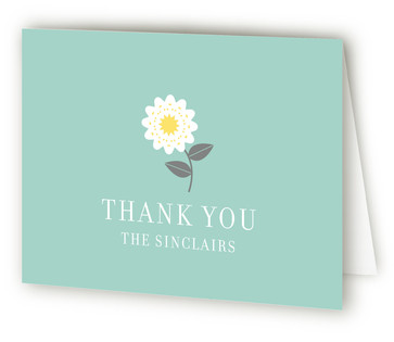 Soiree Adult Birthday Party Thank You Cards