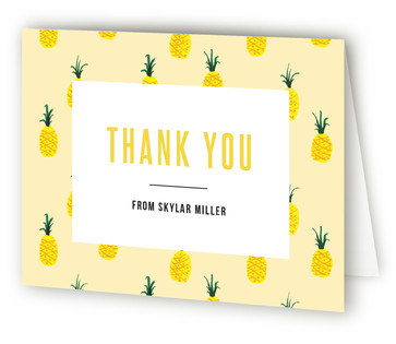 Jamba Adult Birthday Party Thank You Cards