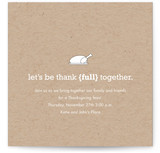 Friendsgiving Fun Thanksgiving Online Invitations