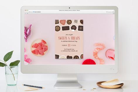 Valentine Sweets Valentine's Day Online Invitations