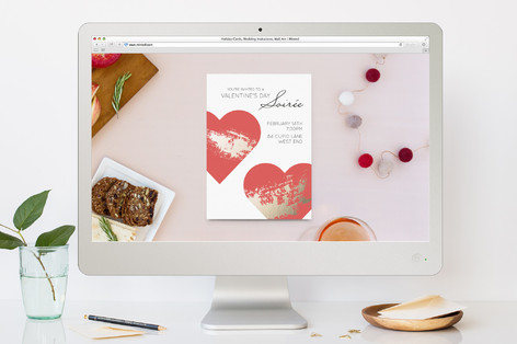 Valentine's Soiree Valentine's Day Online Invitations