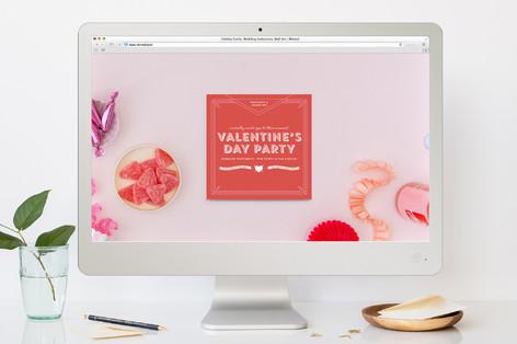 Sooo Valentines-ee Valentine's Day Online Invitations