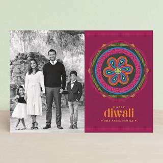 Paisley Emblem Diwali Cards