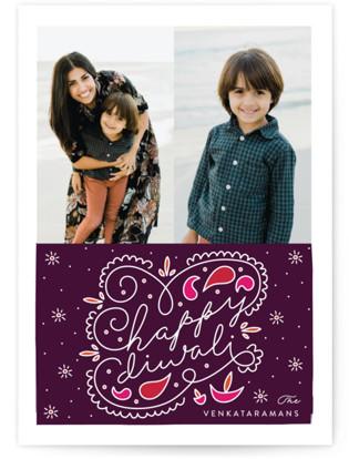 fun rangoli Diwali Cards