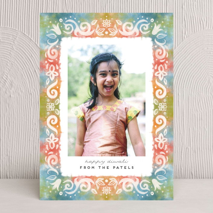 """Dye and Salt"" - Diwali Cards in Prism by Grae Sales."