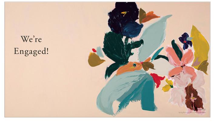 Spring Botanical Series #3 by Caryn Owen