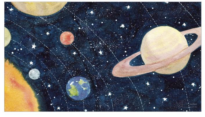 Solar System by Alexandra Dzh