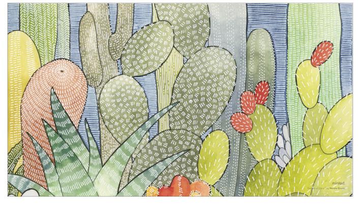 Garden of Cacti 1 by Natalie Groves