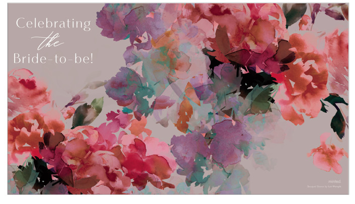 Bouquet Shower by Lori Wemple