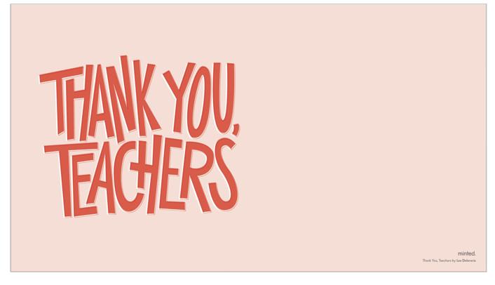 Thank You, TeachersbyLea Delaveris