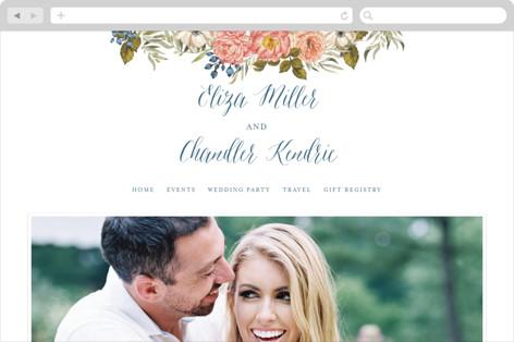 Garden Rose Wedding Websites