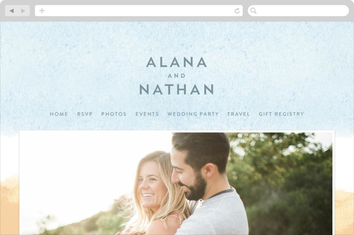 """Painted Sea"" - Beach, Destination Wedding Websites in Sea by Laura Condouris."