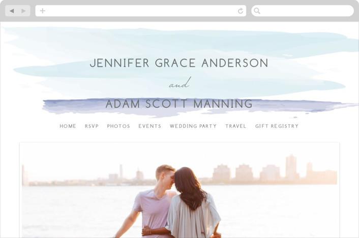 """""""Set Sail"""" - Beach, Destination Wedding Websites in Mediterranean by Sarah Brown."""