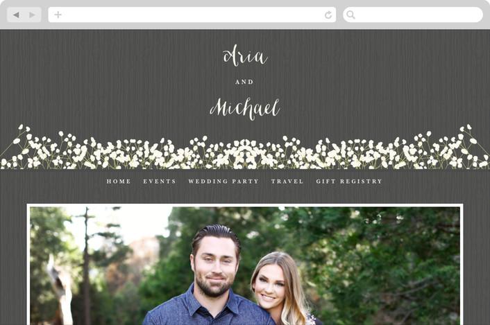 """In Nature"" - Wedding Websites in Beachwood by Leah Bisch."