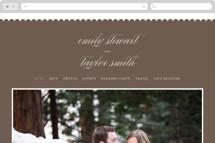 Sweet Scallop Wedding Websites