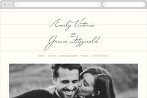 Library Wedding Websites