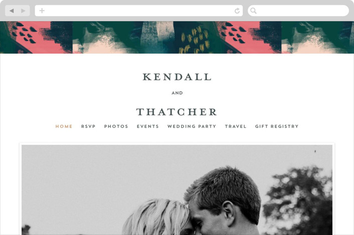 """Dreaming"" - Modern Wedding Websites in Garden by iamtanya."