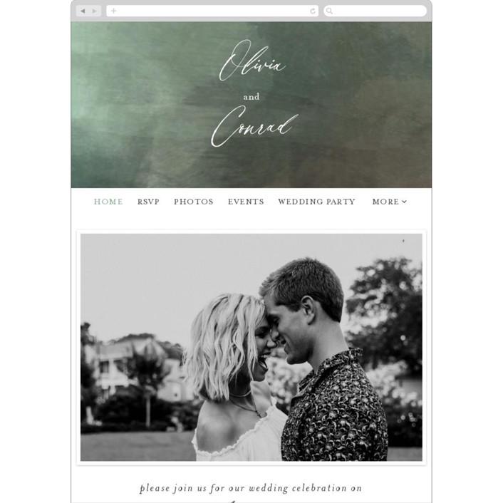 """Meadow"" - Wedding Websites in Meadow by Eric Clegg."