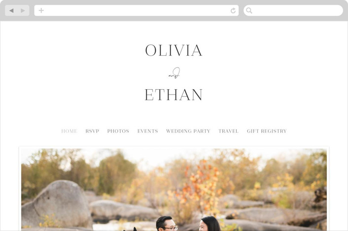 This is a black wedding website by Carolyn MacLaren called In Love printing on digital paper.