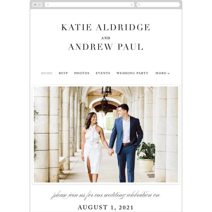 """Typography"" - Wedding Websites in Pearl by lena barakat."