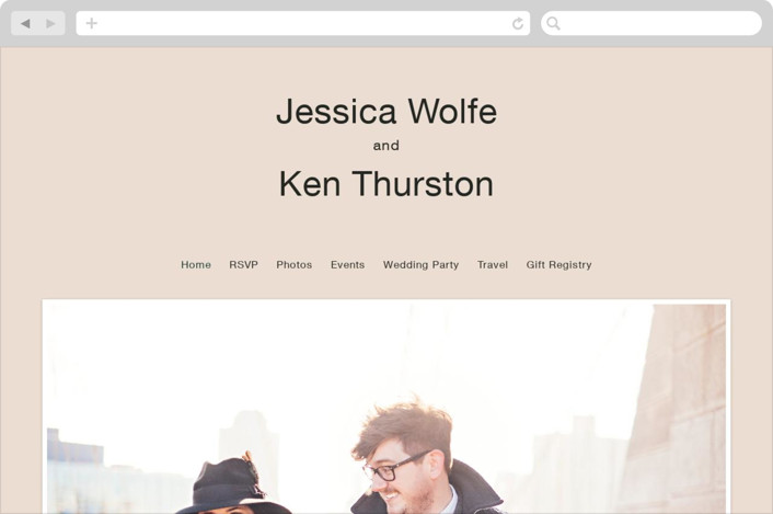 """Proposal"" - Wedding Websites in Buff by Jack Knoebber."