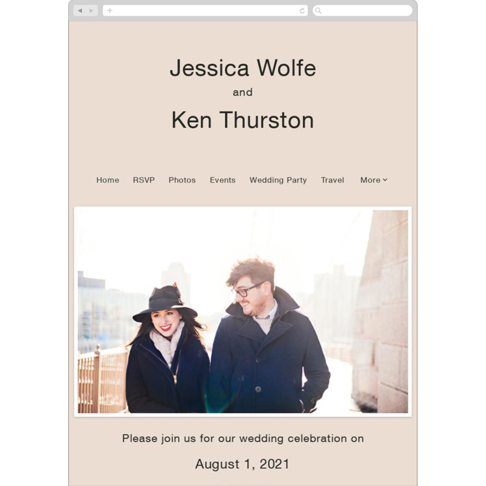 """Proposal"" - Wedding Websites in Buff by Jack Knoebber."