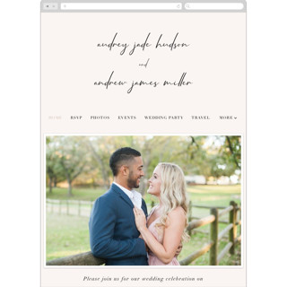 This is a white wedding website by Nicoletta Savod called mod printing on digital paper.