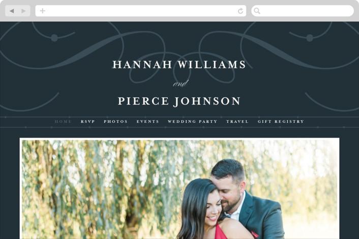 """Traditional"" - Wedding Websites in Navy by lena barakat."
