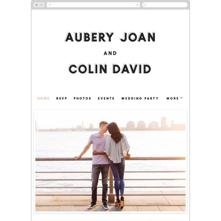 """""""bold blush"""" - Wedding Websites in Blush by frances."""