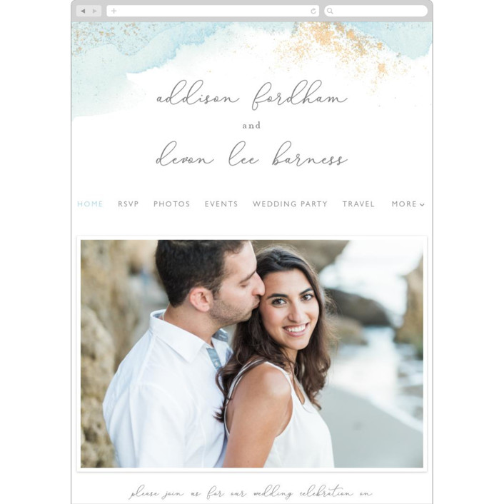 """My tenderness"" - Modern Wedding Websites in Topaz by Helen Halik."