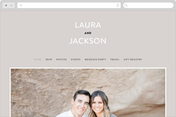 """Styled"" - Wedding Websites in Fog by Pixel and Hank."