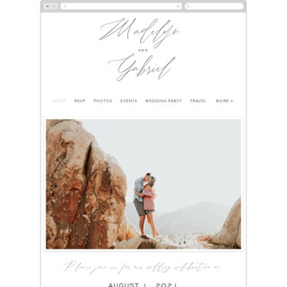 This is a white wedding website by Amy Kross called Cummings printing on digital paper.