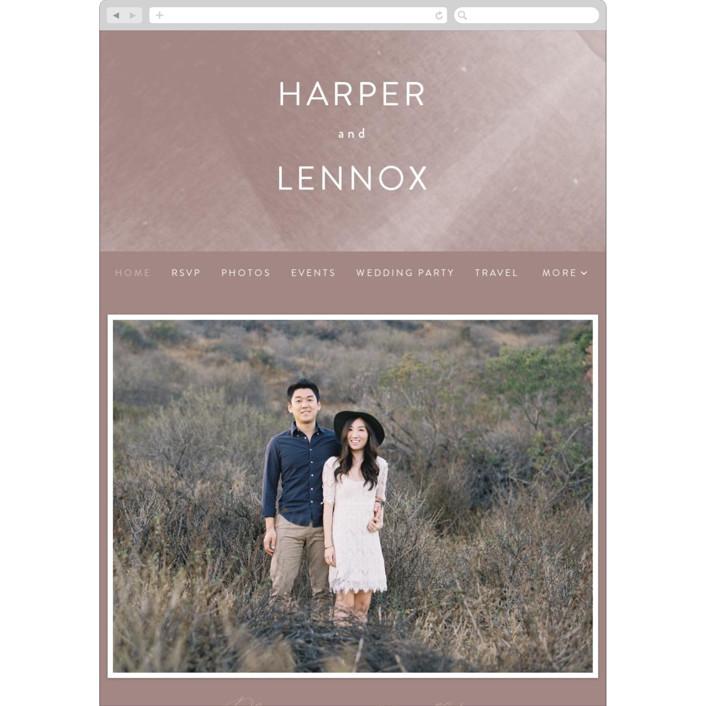 """plain paint"" - Modern Wedding Websites in Taupe by Phrosne Ras."