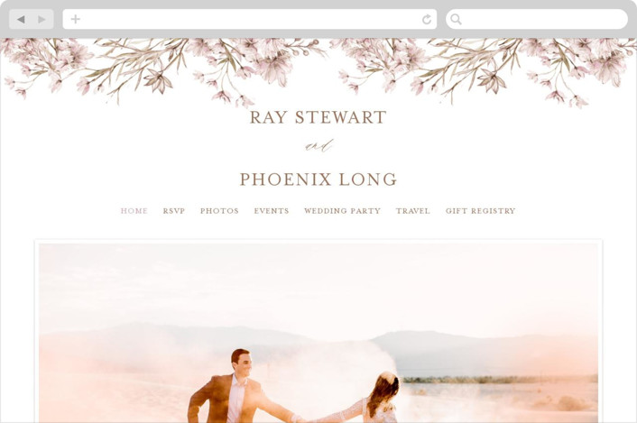 This is a brown wedding website by Phrosne Ras called ring box printing on digital paper.