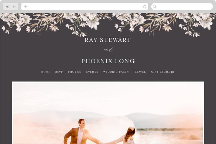 This is a black wedding website by Phrosne Ras called ring box printing on digital paper.