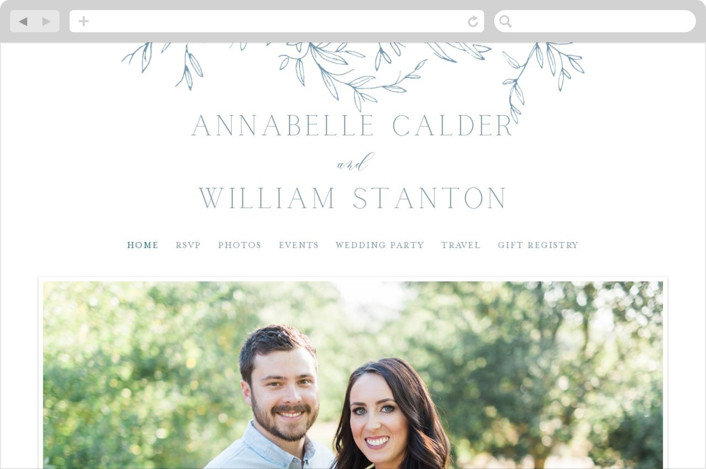 """Love Beyond Measure"" - Wedding Websites in Mineral by Oscar & Emma."