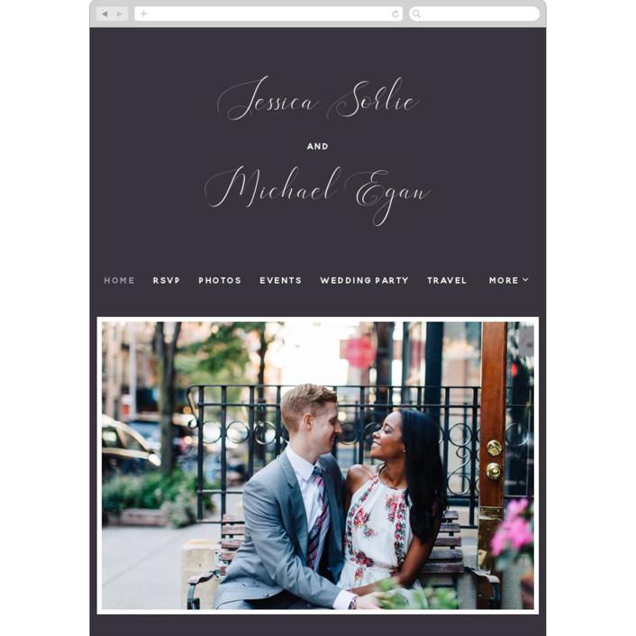 """Right Side"" - Wedding Websites in Blackberry by Susan Brown."